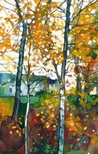 Through Autumn Leaves - House for an Art Lover
