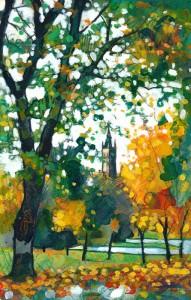 Autumn Colours Kelvingrove Park